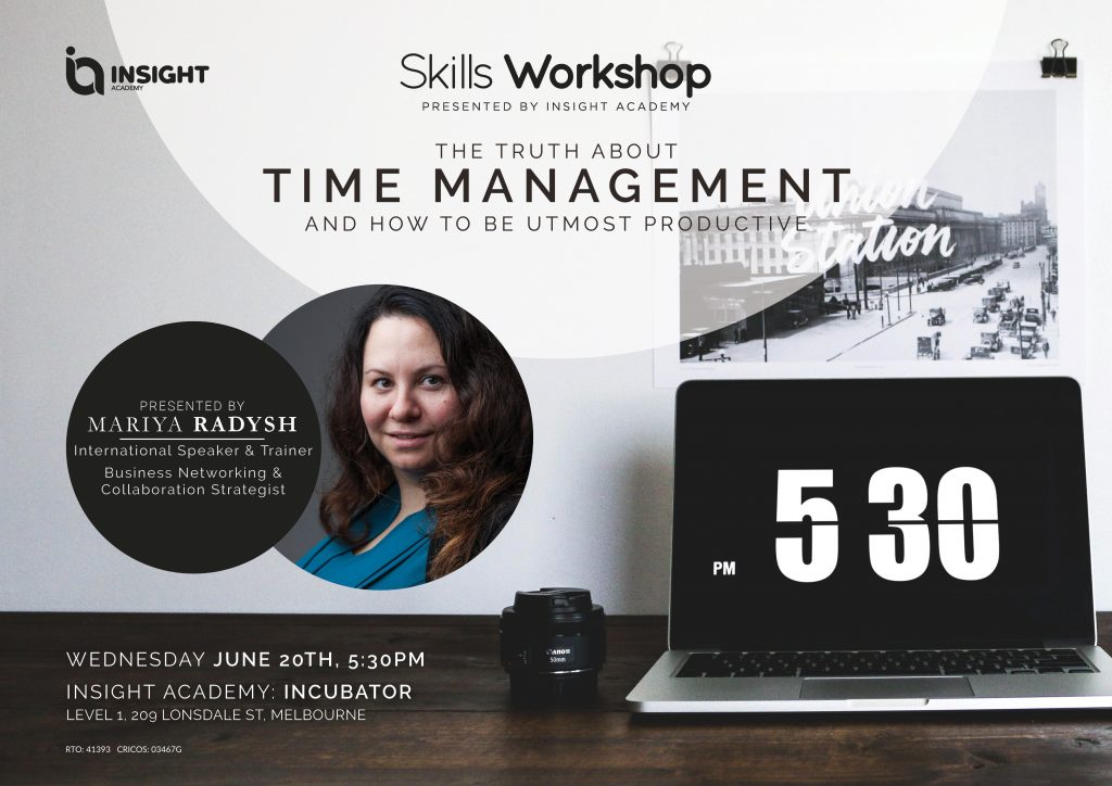 Skills Workshop: The Truth about Time Management