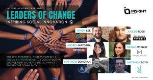 Leaders of Change, Inspiring social Innovation