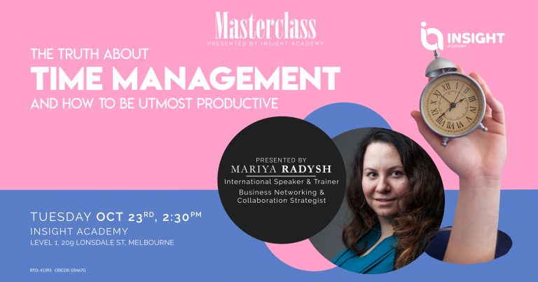 The truth about time management & how to be utmost productive