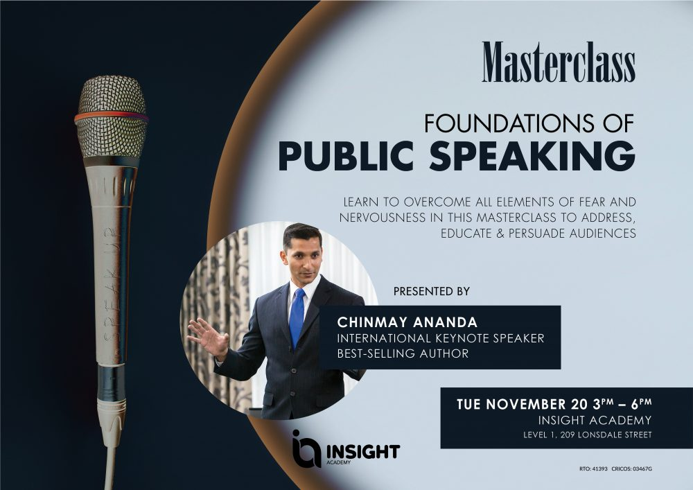 Foundations of Public Speaking