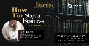 How to start a Business, the Legality Side