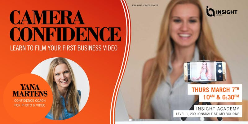 CAMERA CONFIDENCE: Learn to film your first business video