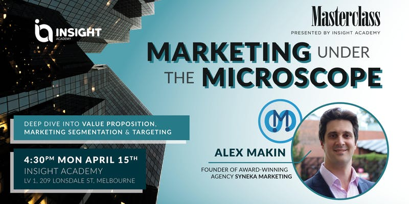 MARKETING under the microscope