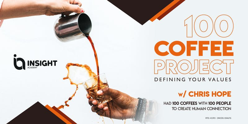 100 COFFEE PROJECT: Defining Your Values