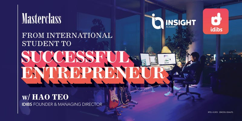 From International Student to Successful Entrepreneur | Masterclass