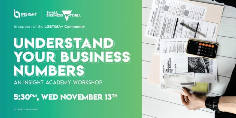 UNDERSTAND YOUR BUSINESS NUMBERS | Workshop