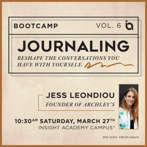 The Power of Journaling   Bootcamp